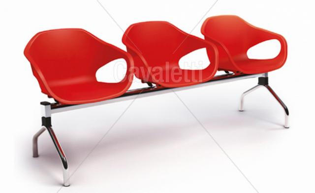 Cadeira para Escritório de Espera Barueri - Cadeira para Escritório Giratória