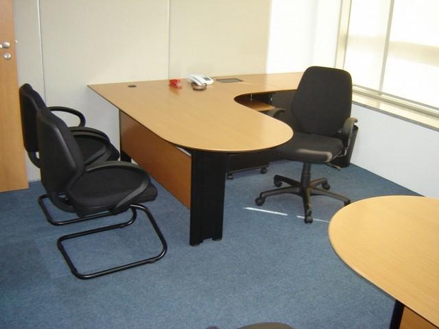Comprar Mesa para Escritório Auxiliar Barueri - Mesa para Escritório de Madeira