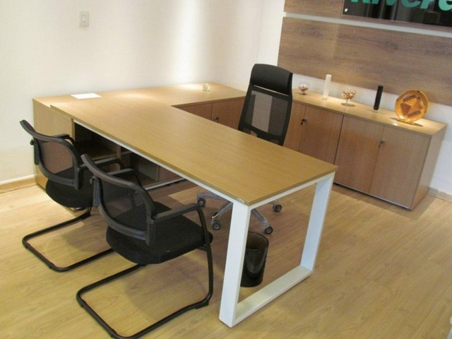 Mesa para Escritório Preço Embu das Artes - Mesa para Escritório de Madeira