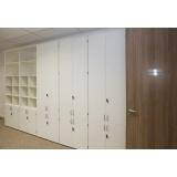 armário para escritório de canto Cajamar