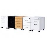 armário para escritório com gavetas