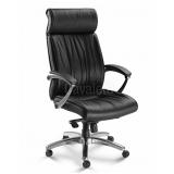 cadeira para escritório de couro preço Guarulhos