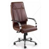 cadeira para escritório de couro Cotia