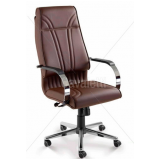 cadeira para escritório de couro Carapicuíba
