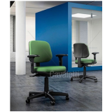 cadeira para escritório giratória simples preço Embu das Artes