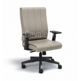 cadeira para escritório de couro