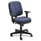 cadeiras para escritório com apoio de braço Cajamar