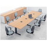 comprar mesa de reunião para escritório Alphaville