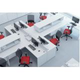 comprar mesa para escritório branca Jundiaí