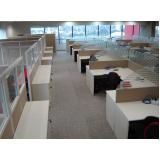 comprar mesa para escritório com divisórias Cajamar