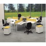 comprar mesa para escritório em L Cotia