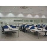 estações de trabalho 6 lugares Jandira
