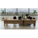 mesa de canto estação de trabalho para escritório preço Osasco