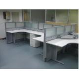mesa de canto estação de trabalho Cajamar