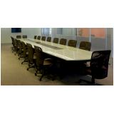 mesa de reunião para escritório preço Barueri