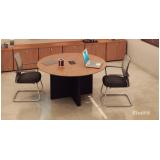 mesa de reunião para escritório Santana de Parnaíba