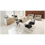 mesa para escritório com armário preço Alphaville