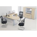 mesa para escritório com armário Guarulhos