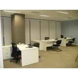 mesa para escritório com gavetas Barueri