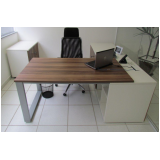 mesa para escritório de canto preço Barueri
