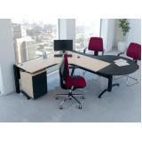 mesa para escritório de canto Alphaville