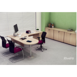 mesa para escritório de madeira Carapicuíba