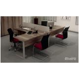 mesa para escritório em L preço Osasco