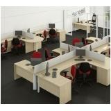 mesas de canto estação de trabalho Barueri