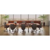 mesas de reunião para escritório Alphaville