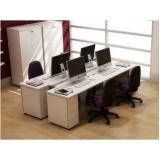 mesas estação de trabalho pequena Alphaville