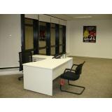 mesas para escritórios auxiliares Cajamar