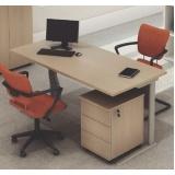 mesas para escritórios com gavetas Osasco