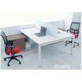 mesas plataforma para escritório Cajamar