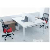 mesas plataforma para escritório Barueri