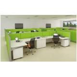 móveis corporativos para escritório pequeno preço Jandira