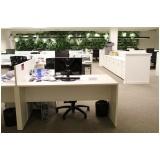 móveis corporativos para escritório pequeno Jandira