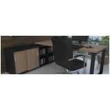 móvel para escritório bella línea Cajamar
