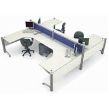 quanto custa mesa de canto estação de trabalho para escritório Jundiaí