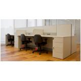 quanto custa mesa para escritório branca Embu das Artes
