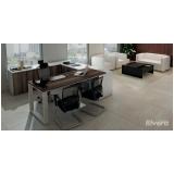 quanto custa mesa para escritório com armário Jandira