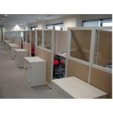 quanto custa mesa para escritório com divisórias Alphaville