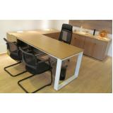 quanto custa mesa para escritório de canto Alphaville