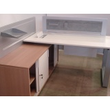 quanto custa mesa para escritório sob medida Barueri