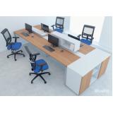 quanto custa mesa plataforma para escritório Cotia