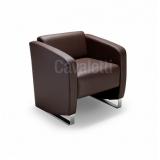 sofás de couro para escritório Jandira