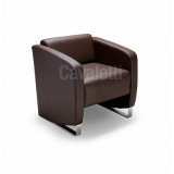 sofás de couro para escritório Barueri